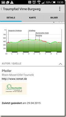 Traumpfade App - Wegebeschreibung neu 2