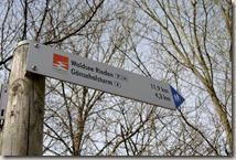 Traumpfad Waldseepfad Rieden - Hinweisschild