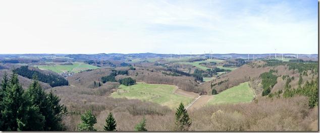 Traumpfad Waldseepfad Rieden - Ausblick vom Turm 1