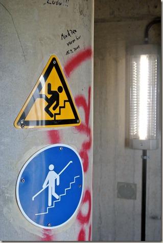 Traumpfad Waldseepfad Rieden - Im Treppenhaus des Turms