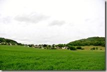 Wandern in Brohltal (Weibern) -  Blick auf Engeln