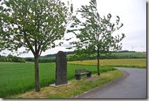 Wandern in Brohltal (Weibern) -  Basalttafel