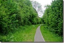 Wandern in Brohltal (Weibern) -  Fahrradweg