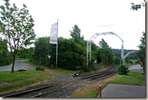 Wandern in Brohltal (Weibern) -  Bahnhof Engeln