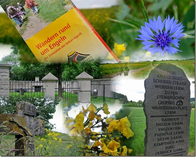 Wandern in Brohltal (Weibern) -  Collage