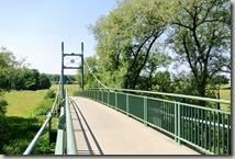 Kulturlandweg Sieg - Brücke über die Sieg