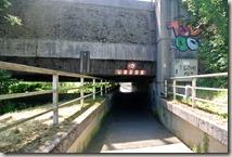 Kulturlandweg Sieg - Unterführung