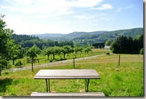Pulvermühlenweg Sieg - Bick zurück ins Tal