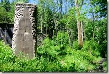 Pulvermühlenweg Sieg - die Natur erobert sich das Gelände zurück