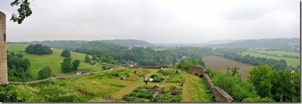 Erlebnisweg Burgweg - Burggarten und Tal