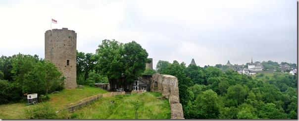 Erlebnisweg Burgweg - Burgpanarama