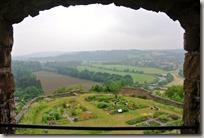 Erlebnisweg Burgweg - Fensterblick