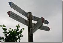 Erlebnisweg Burgweg - Wegweiser