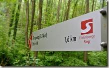 Erlebnisweg Burgweg - noch 1,6 km