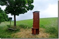 Erlebnisweg Burgweg - der Stuhl