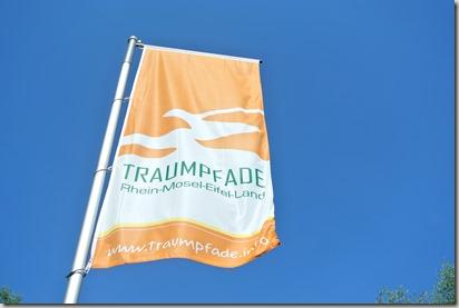 Traumpfad Pellenzer Seepfad - Traumpfad-Fahne
