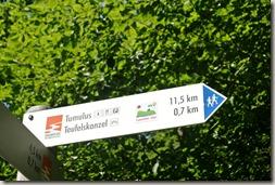 Traumpfad Pellenzer Seepfad - 700 m zur Teufelskanzel