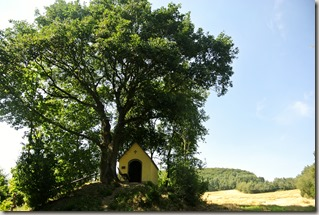 Traumpfad Pellenzer Seepfad - gelbe Kapelle