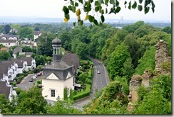 Traumpfad Saynsteig - Blick von oben auf das Schloss