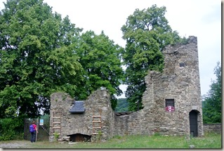 Traumpfad Saynsteig - Burg Sayn - Nebengebäude