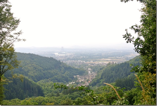 Traumpfad Saynsteig - Ausblick ins Rheintal vom Limesturm