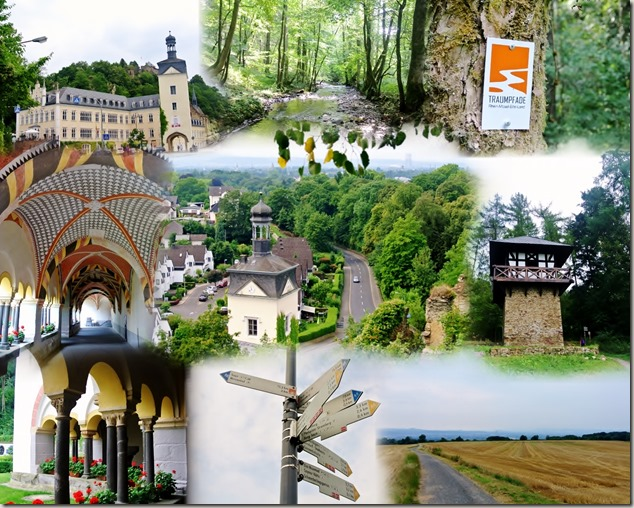 Traumpfad Saynsteig - Collage