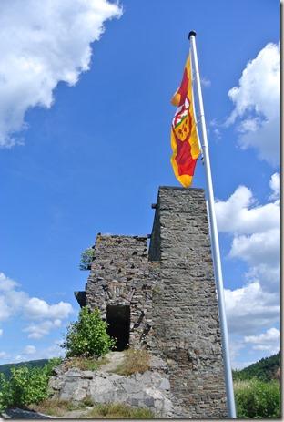 Traumpfad Virne-Burgweg - In der Burg