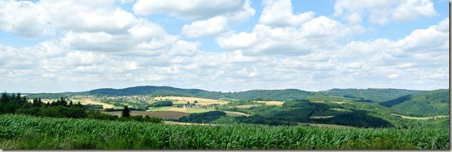 Traumpfad Virne-Burgweg - Ausblick von der Heide