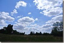 Traumpfad Virne-Burgweg - Wolkenhimmerl über der Heide