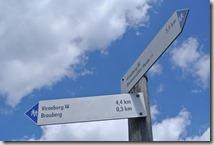 Traumpfad Virne-Burgweg - noch 4,4 Kilometer