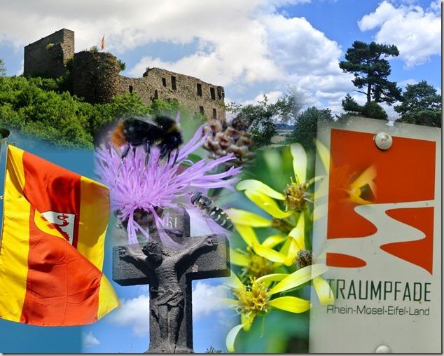 Traumpfad Virne-Burgweg - Collage