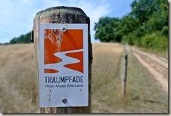 Traumpfad Nette-Schieferpfad - Wegekennzeichnung