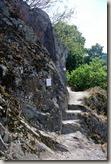Traumpfad Nette-Schieferpfad - Felstreppe
