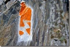 Traumpfad Nette-Schieferpfad - Logo und Fels