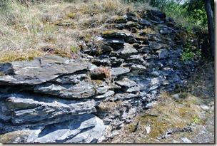 Traumpfad Nette-Schieferpfad - Trockenmauer