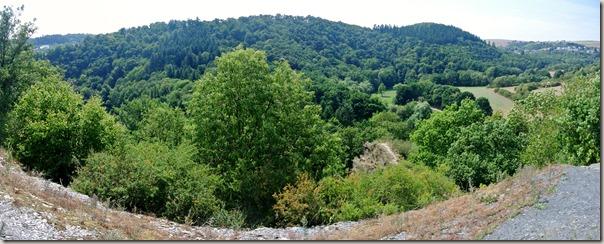 Traumpfad Nette-Schieferpfad - Blick ins Tal