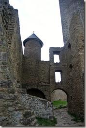 Veldenz Wanderweg Etappe 1 - Im innern der Burg