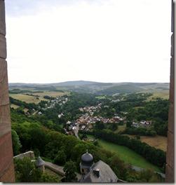 Veldenz Wanderweg Etappe 1 - Blick vom Burgfried 1