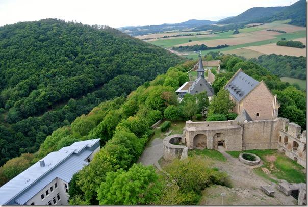 Veldenz Wanderweg Etappe 1 - Blick vom Burgfried 2