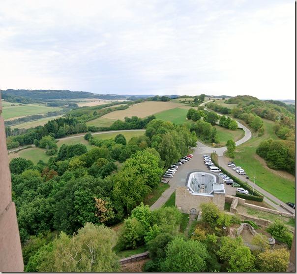 Veldenz Wanderweg Etappe 1 - Blick vom Burgfried 4