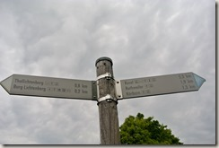 Veldenz Wanderweg Etappe 1 - Wegweiser