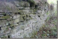 Veldenz Wanderweg Etappe 1 - Bruchsteinmauer