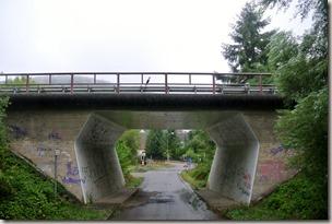 Veldenz Wanderweg Nerzweiler-Ausbacherhof - Unterführung nach Heinzenhausen