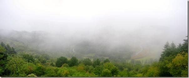 Veldenz Wanderweg Nerzweiler-Ausbacherhof - Lauterschleife im Nebel