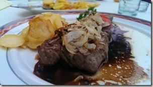 Veldenz Wanderweg - Abendessen im Restaurant