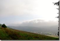 Veldenz Wanderweg - Nebel über Rathsweiler