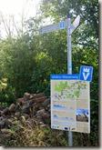 Veldenz Wanderweg Ausbacherhof-Lauterecken: Wegweiser und Karte