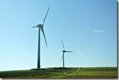 Veldenz Wanderweg Ausbacherhof-Lauterecken: Windräder