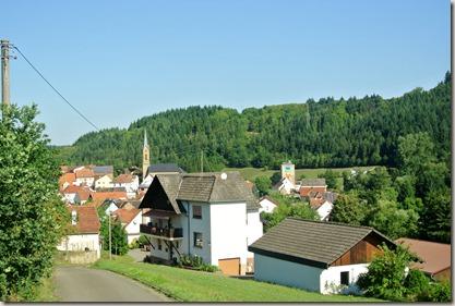Veldenz Wanderweg Ausbacherhof-Lauterecken: Ortseingang Reipoltskirchen