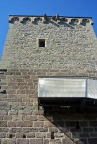 Veldenz Wanderweg Ausbacherhof-Lauterecken: Der Burgfried